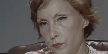 Clarice Lispector durante entrevista à TV Cultura (Instituto Moreira Salles/Reprodução)