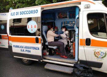 Voluntários da ANPAS prestam assistência na Itália no combate ao Covid-19 (Arquivo/Anpas/via Fotos Públicas)