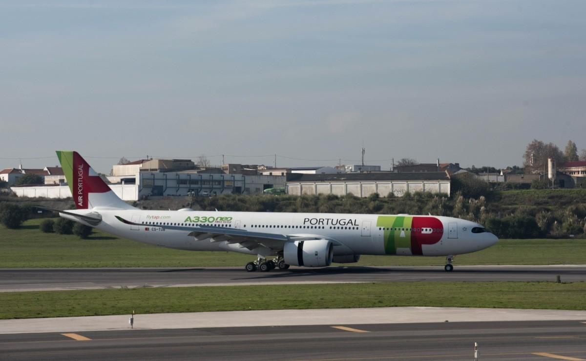 Aeronave A330neo da TAP (Divulgação)