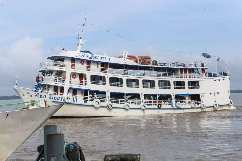 Pará fecha divisa para barcos de passagerios vindos do Amazonas (Alex Ribeiro/Agência Pará)