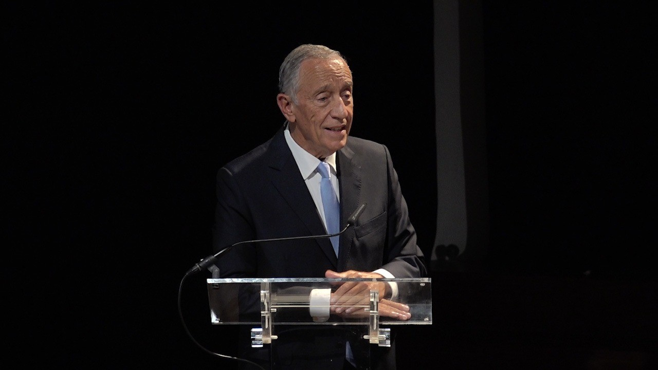 Marcelo Rebelo de Sousa, Presidente de Portugal (Presidencia de Portugal/Reprodução)