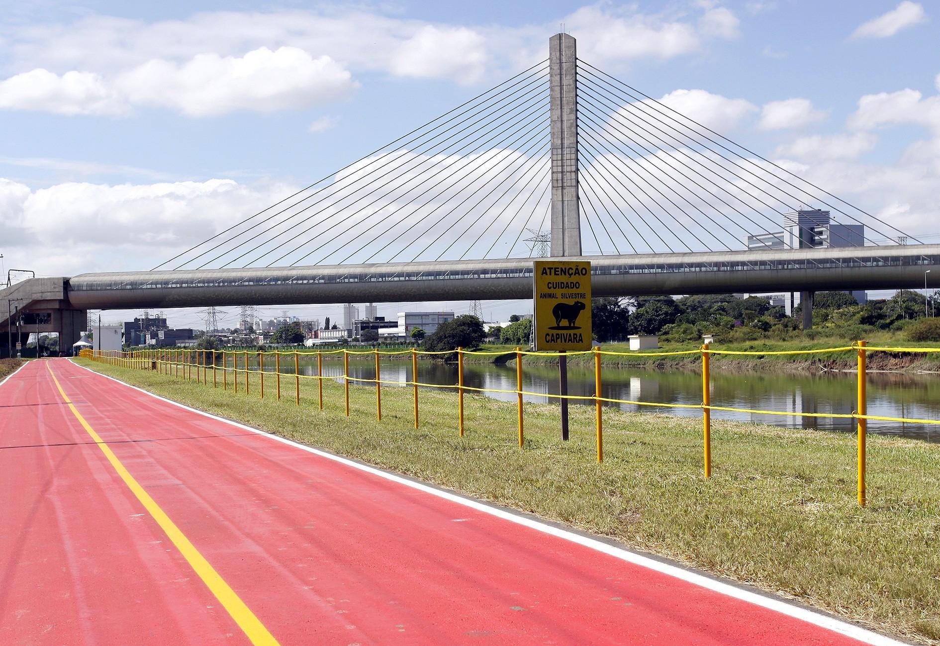 Ciclovia do Rio Pinheiros (Gov. do Estado de SP)