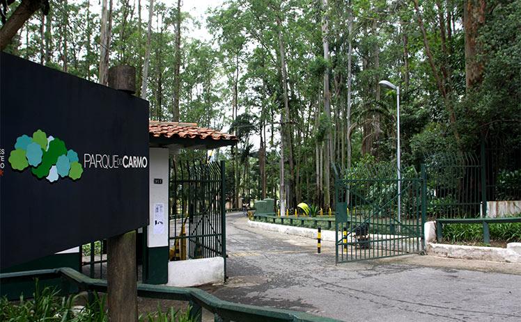 Parque do Carmo, na zona leste (Pref. de São Paulo)