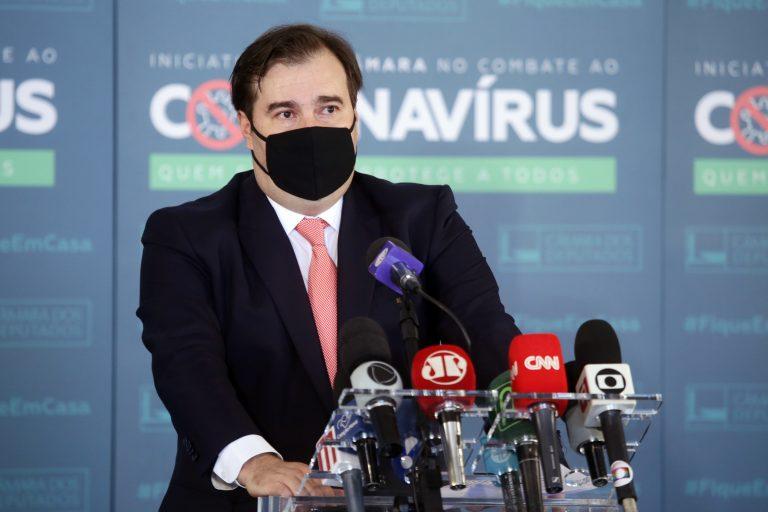 Rodrigo Maia, presidente da Câmara dos Deputados (Maryanna Oliveira/Câmara dos Deputados)
