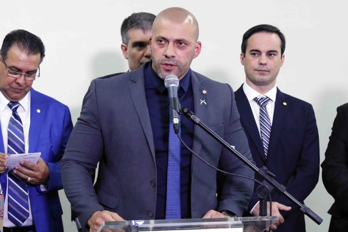 Daniel Silveira, deputado federal (PSL-RJ) (Luis Macedo/Câmara dos Deputados)