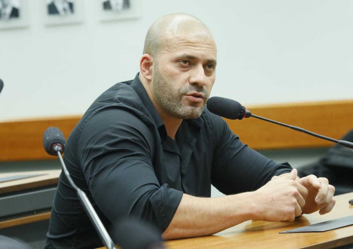 Daniel Silveira, deputado federal (PSL-RJ) (Maryanna Oliveira/Câmara dos Deputados)