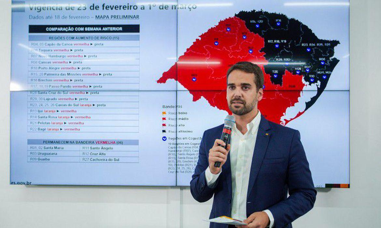 Eduardo Leite, governador do Rio Grande do Sul (Felipe Dalla Valle/Gov. do Estado do RS)