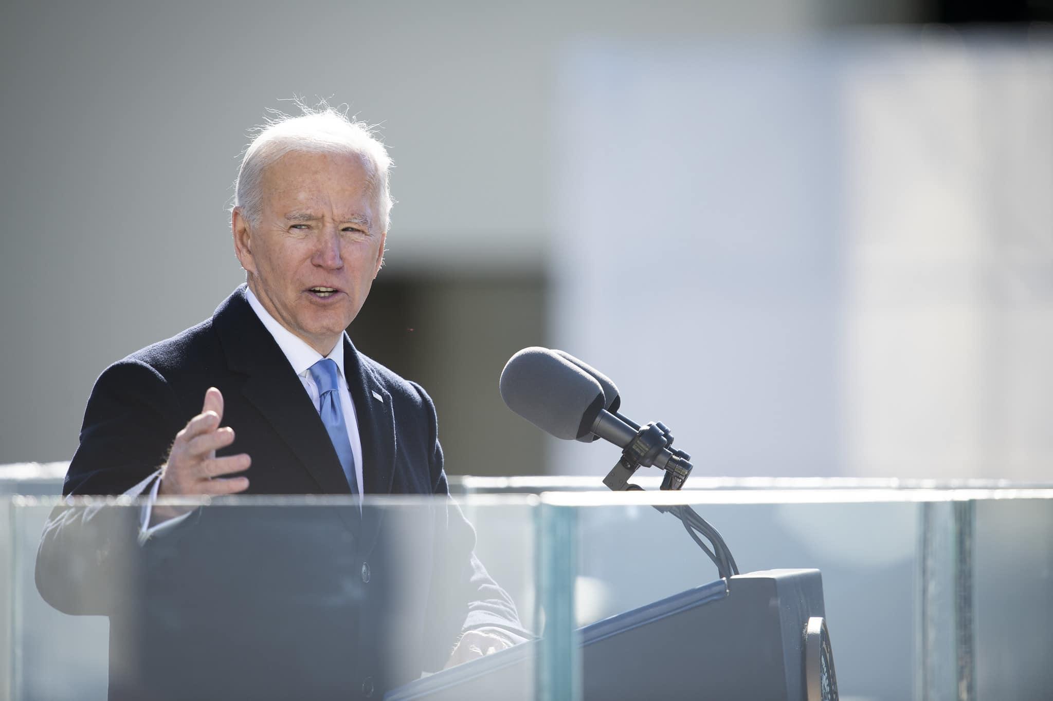 Joe Biden, Presidente dos Estados Unidos (Carlos M. Vazquez/Marinha dos EUA)