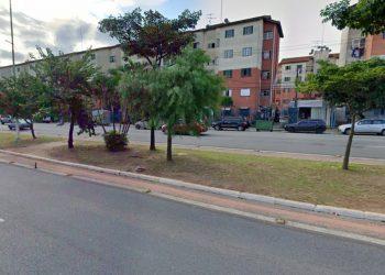 Avenida Zaki Narchi, onde mãe e filho foram encontrados (GoogleStreetView/Reprodução)