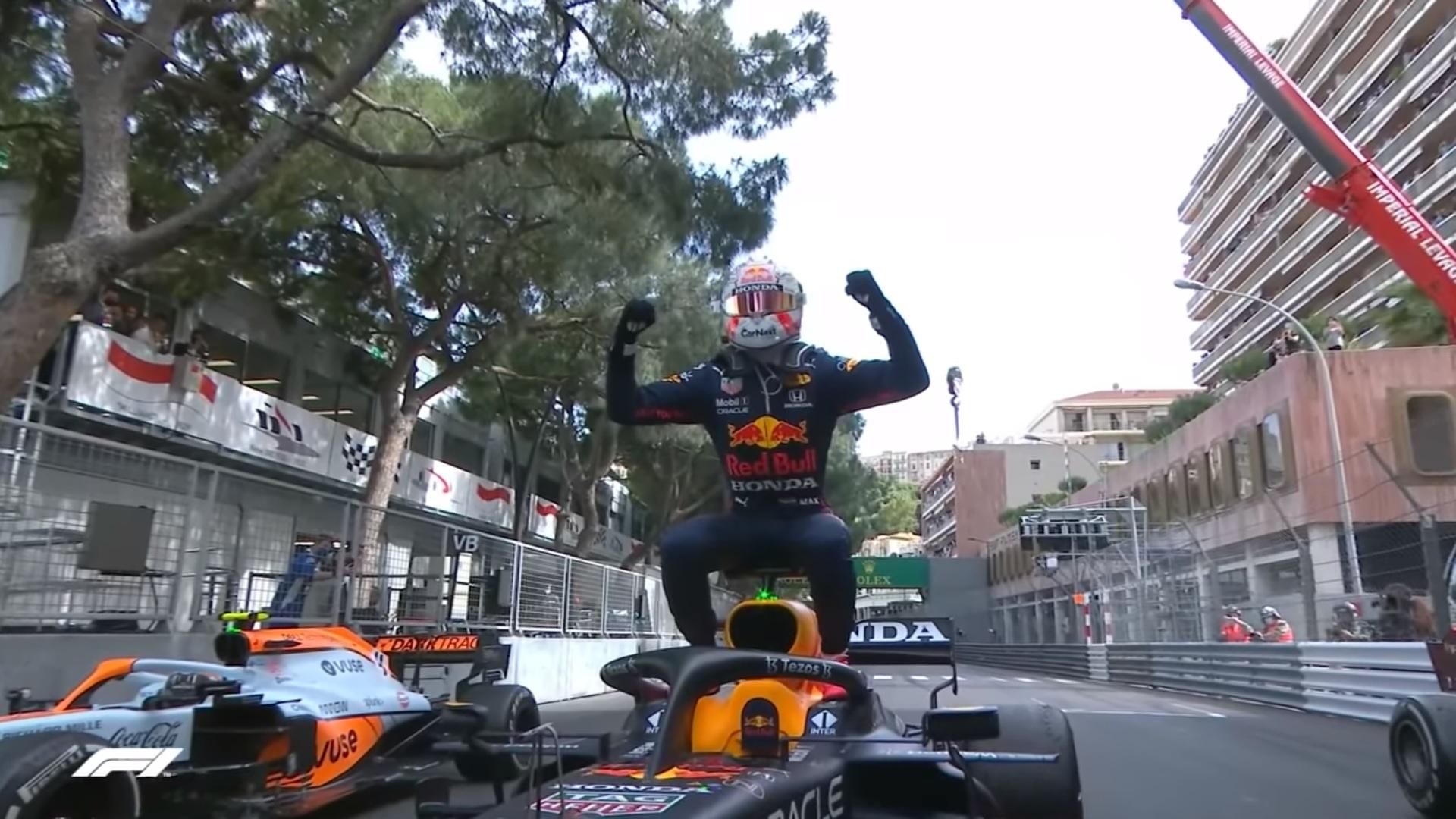 Verstappen vence em Mônaco e supera Hamilton no Mundial de Fórmula 1