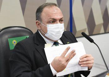Eduardo Pazuello, ex-ministro da Saúde (Jefferson Rudy/Agência Senado)