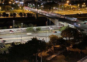 Marginal Tietê, altura da ponte da Casa Verde (SP Agora)