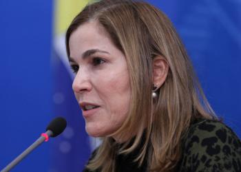 Mayra Pinheiro, secretária de Gestão do Trabalho do Ministério da Saúde (Júlio Nascimento/Planalto)