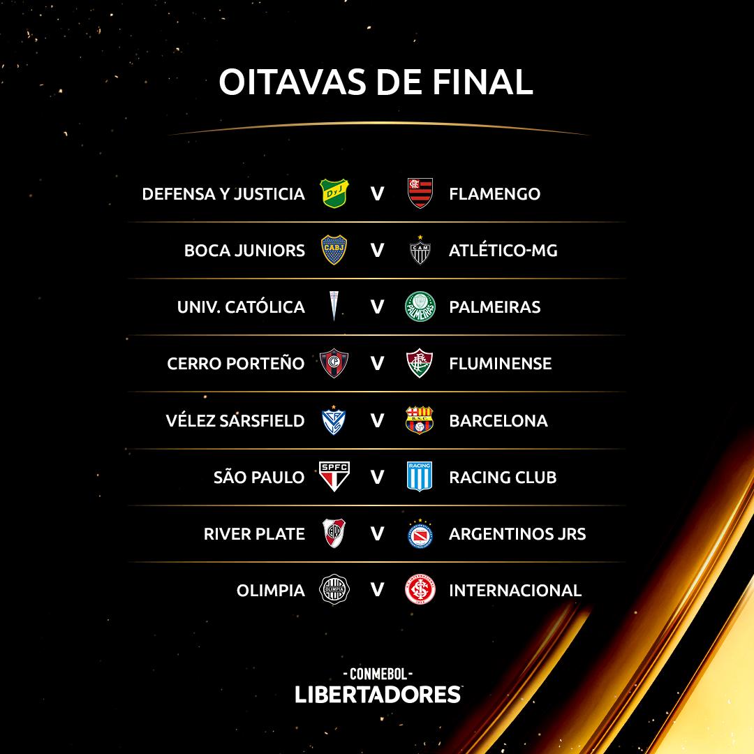 Reprodução / Facebook Oficial Conmebol Libertadores