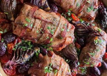 Peixe na Trança de Bacon é sugestão sofisticada