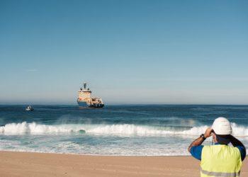 Cabo atravessa o Oceano Atlântico (Divulgação)