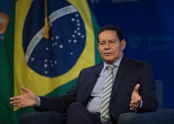 Hamilton Mourão, vice-presidente da República (Wilson Center/via TV Cultura)