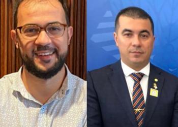 Luis Ricardo Fernandes Miranda, servidor federal, e Luis Miranda, deputado federal (DEM-DF) (TV Cultura/Reprodução)