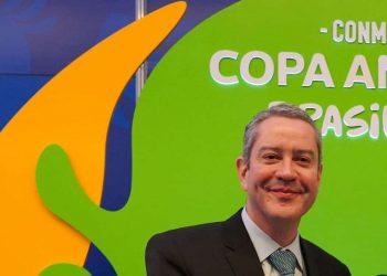 Rogério Caboclo, presidente afastado da CBF (Lucas Figueiredo/CBF/via Fotos Públicas)