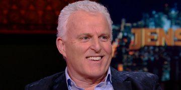 Peter R. De Vries durante entrevista para a TV (Rede social/Reprodução)