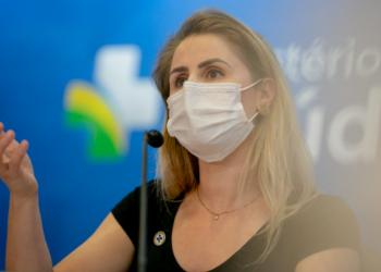Francieli Fantinato, ex-diretora do PNI (Arquivo/Min. da Saúde)