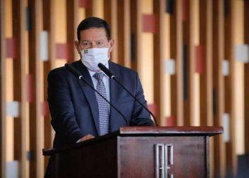 Hamilton Mourão, vice-Presidente da República (Bruno Batista/VPR/via TV Cultura)