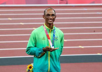 Alison dos Santos, bronze nas Olimpíadas de Tóquio (Gaspar Nóbrega/COB/via Agência Brasil)