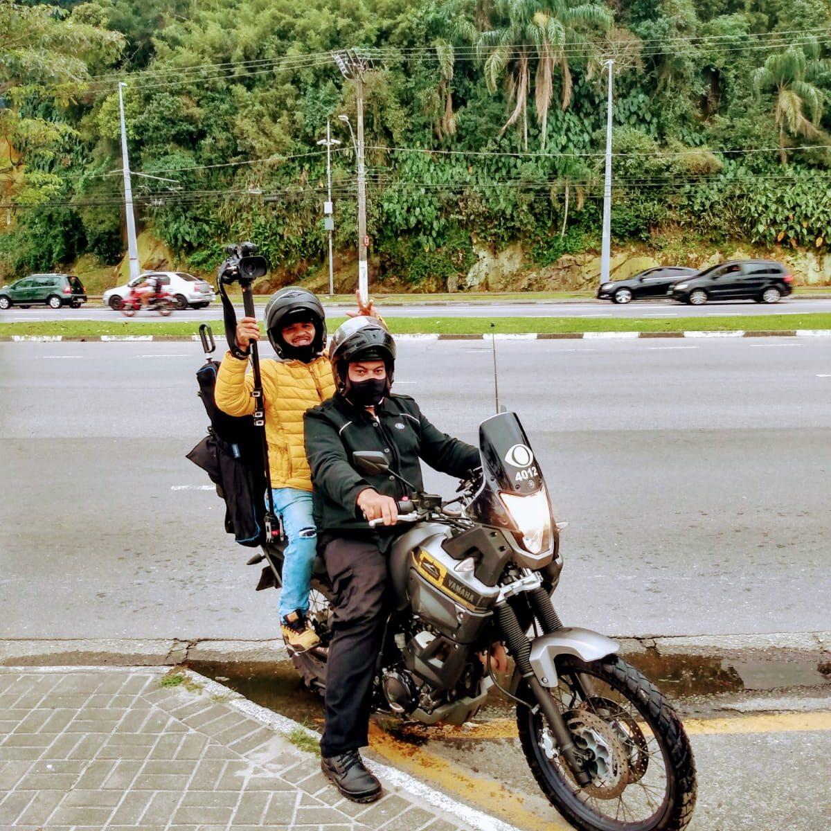 Cinegrafista do motolink da Band morre em acidente em SP