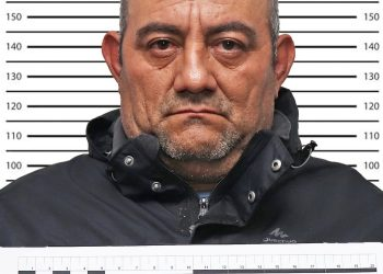 Dario Antonio Úsuga David, acusado pelo Governo Colombiano de ser o maior traficante do país (Reprodução)